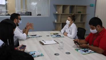 Visita de la secretaria de Gobierno del municipio de Yotoco – Valle, en el Cidti4.0